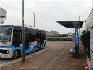 Tacoバス⑮二見ルート「JR土山駅南口」停留所