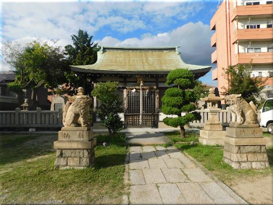 穂蓼八幡神社 1
