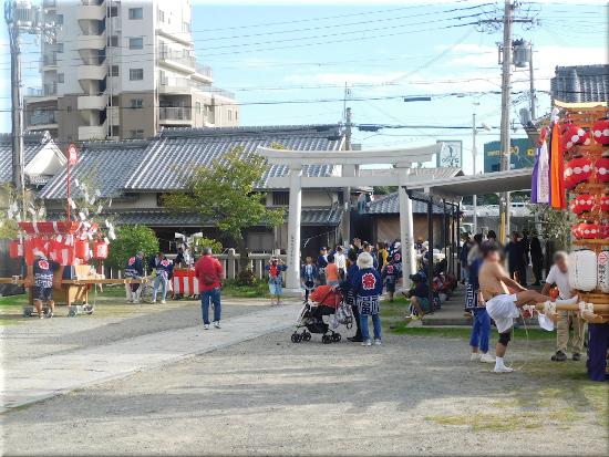 穂蓼八幡神社 3