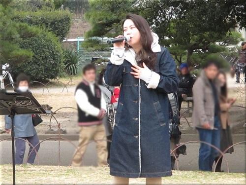 明石公園 冬の味覚市 18