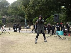 明石公園 冬の味覚市 14
