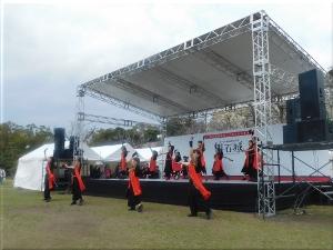 明石城築城400周年記念事業オープニングイベント 地元ダンスチーム演舞 1