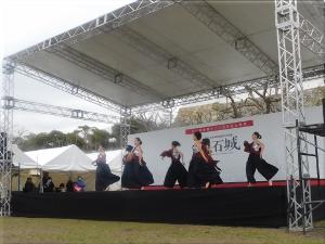 明石城築城400周年記念事業オープニングイベント 地元ダンスチーム演舞 4