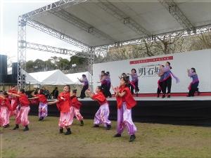 明石城築城400周年記念事業オープニングイベント 地元ダンスチーム演舞 8