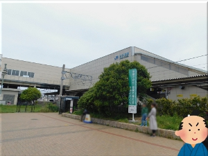 JR「大久保駅」