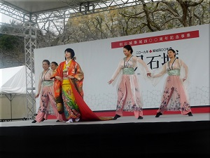 明石城築城400周年記念事業オープニングイベント 地元ダンスチーム演舞 6