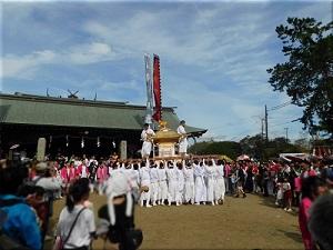 御厨神社 秋祭り 4
