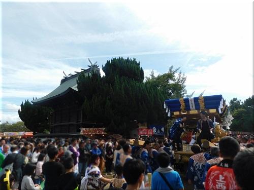 御厨神社 秋祭り 7
