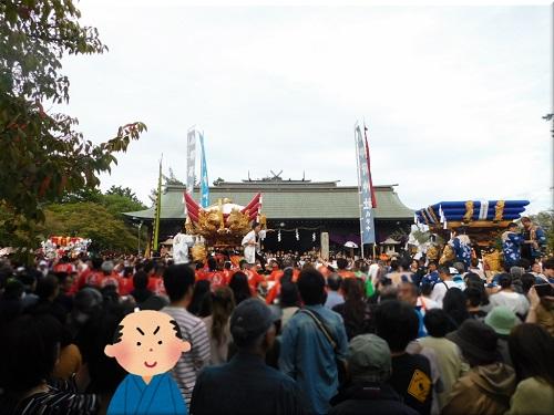 御厨神社 秋祭り 8