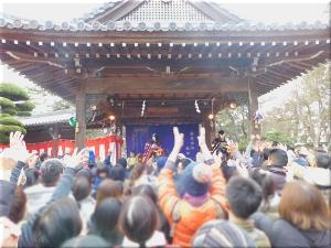 住吉神社 正月の餅まき 1
