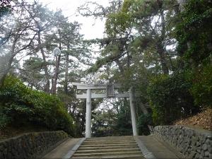 住吉神社 北側入口の鳥居