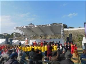 明石城築城400周年記念事業オープニングイベント 市民コーラス 2