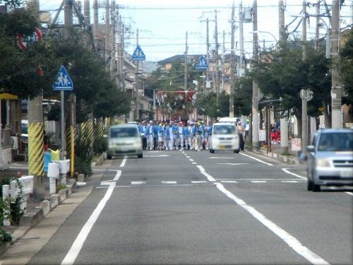 岩屋神社秋祭り 地区巡行 1