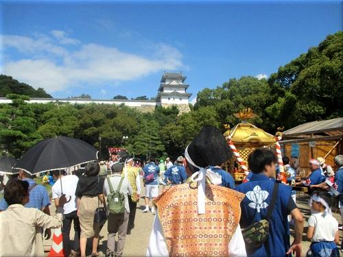 岩屋神社秋祭り 地区巡行 6