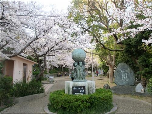 柿本神社横の公園