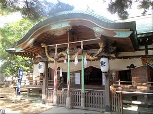 岩屋神社 拝殿