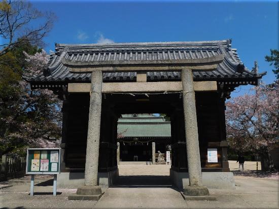 御厨神社 桜1
