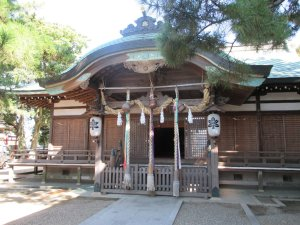 岩屋神社 社殿