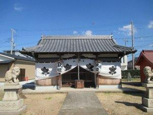 伊弉諾神社 社殿