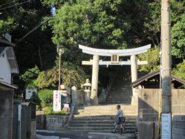 柿本神社 西の鳥居