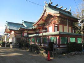 稲爪神社 本殿