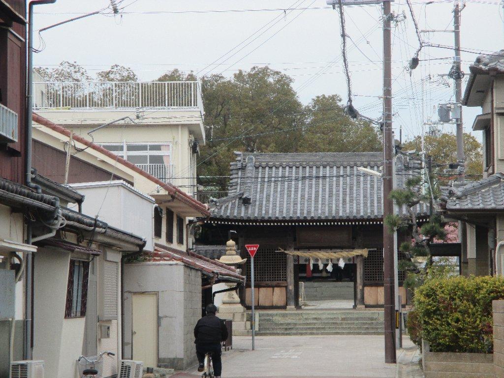稲爪神社 楼門(神門)