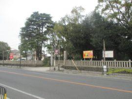 稲爪神社 北側