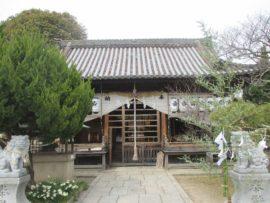 休天神社 拝殿