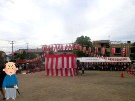 明石 王子夏祭り盆踊り大会 1