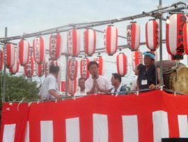 明石 王子夏祭り盆踊り大会 3