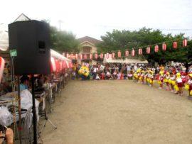 明石 王子夏祭り盆踊り大会 4