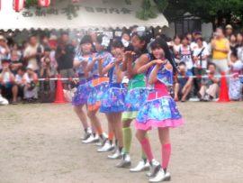 王子夏祭り盆踊り大会2017 新生YENA☆ 2