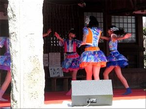 第4回 あさひな祭り」のYENA☆(イエナ) 2