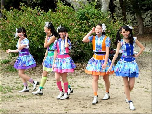明石公園 さくらまつり2018のYENA☆(イエナ) 1