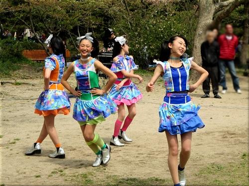 明石公園 さくらまつり2018のYENA☆(イエナ) 2
