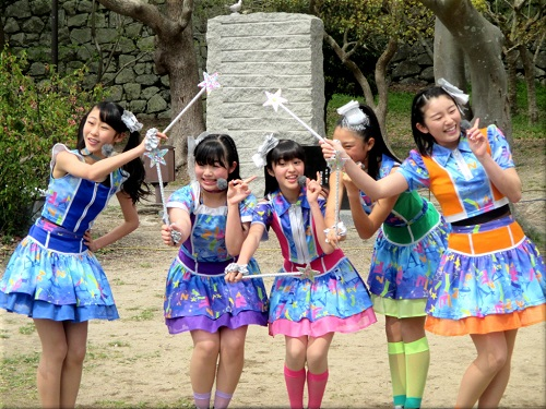 明石公園 さくらまつり2018のYENA☆(イエナ) 4
