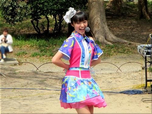 明石公園 さくらまつり2018のYENA☆(イエナ) 3