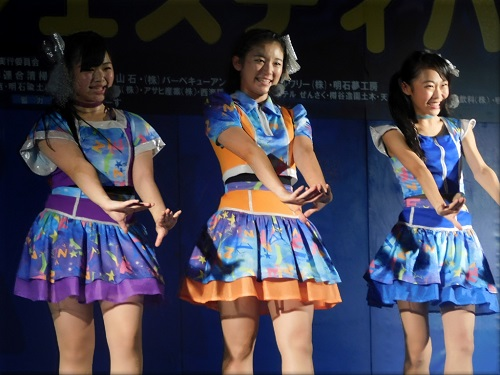 第7回 明石公園納涼フェスティバル YENA☆(イエナ) ステージ4