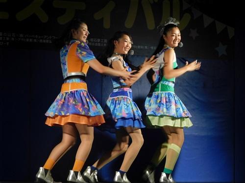 第7回 明石公園納涼フェスティバル YENA☆(イエナ) ステージ5
