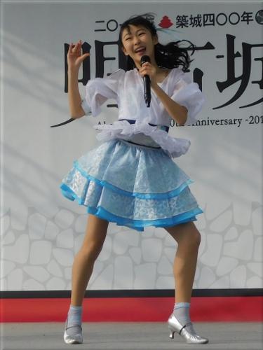 明石城築城400周年記念事業 ステージイベント出演のYENA☆(イエナ) 4