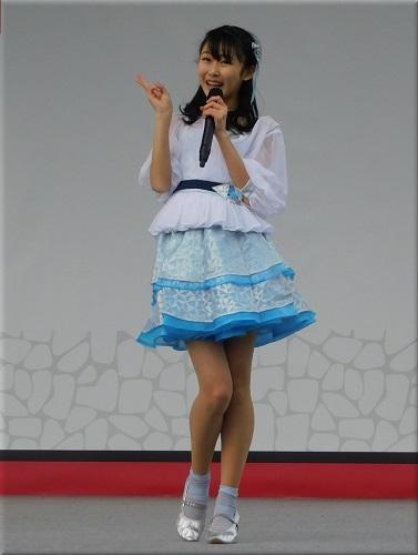 明石城築城400周年記念事業 ステージイベント出演のYENA☆(イエナ) 2