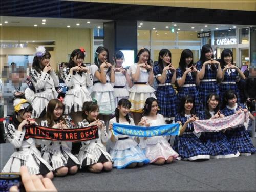 「アイドルひな祭り in 明石」記念撮影